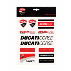 Ducati Corse sticker multicolored big set