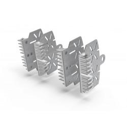 Disipador pinzas de freno Plata Ducabike. BPR04G