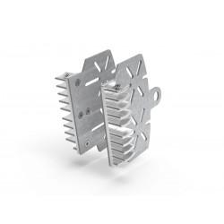 Disipador de calor Plata pinzas de freno para Scrambler