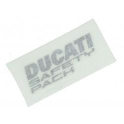 "Pegatina Original ""Ducati Safety Pack"" Izquierda"