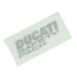 "Pegatina Original ""Ducati Safety Pack"" Derecha"