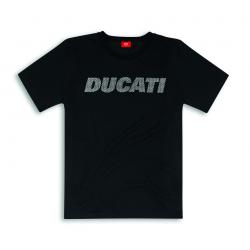 T-shirt emblème Ducati Carbon homme