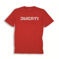 Camiseta hombre Ducatiana 80s roja