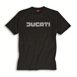 Camiseta hombre Ducatiana 80s negra