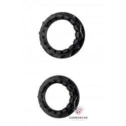 Kit tuercas negras rueda posterior Ducati AEM Factory