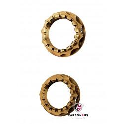 Kit tuercas bronce rueda posterior Ducati AEM Factory