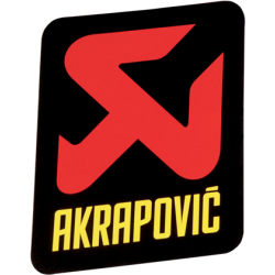 Adhesivo anticalorico vertical 60x60 de Akrapovic