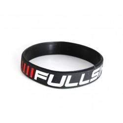 Brazalete de silicona negro FULLSIX para Ducati