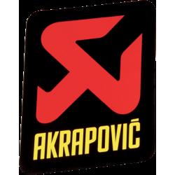 Adhesivo anticalorico vertical 65x85 de Akrapovic