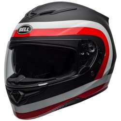 Casco BELL RS-2 talla M, negro-rojo-blanco para Ducati
