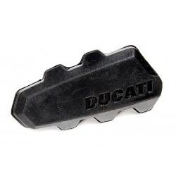 Goma de reposapies izquierdo original Ducati. 76510031A