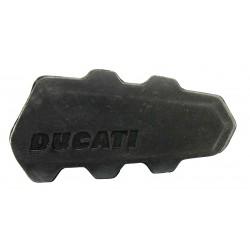 Goma de reposapies derecho original Ducati. 76510021A