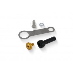 Kit de montaje depósito de fluidos dorado CNC de Ducati