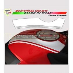 Kit de pegatinas de depósito Racing Ducati Multistrada