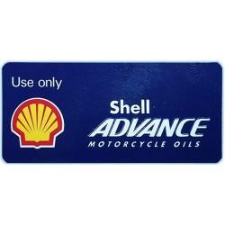 Pegatina Shell Advance para emgrague Ducati
