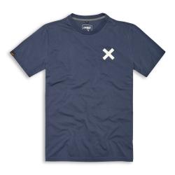 Camiseta manga corta azul Ducati Scrambler Ocean