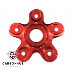"""Portacoronas AEM Factory 5 anclajes """"Star"""" para Ducati"""