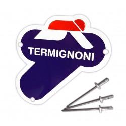 Chapa Termignoni 75x75 para Ducati