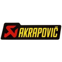 Adhesivo anticalorico 100x29mm Akrapovic