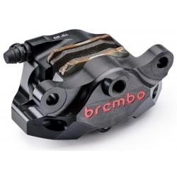 Pinza trasera Brembo P2 84mm HPK negra para Ducati