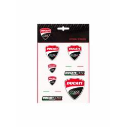 Set de pegatinas Ducati Corse