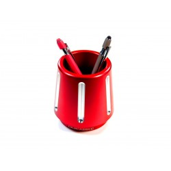 Lapicero de aluminio rojo Ducabike para Ducatistas