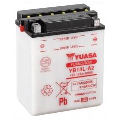 Batería yuasa para Ducati YB14AL-A2