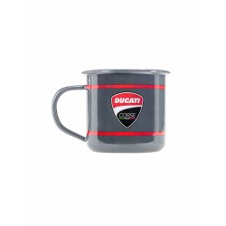 Taza de desayuno oficial Ducati Corse Aluminio Gris