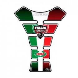 Protector de depósito Bandera Italia Racing para Ducati