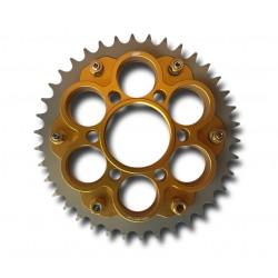 Kit de portacoronas AEM Factory dorado para Ducati