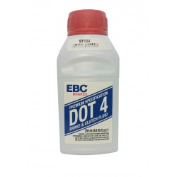 Líquido de freno y embrague DOT4 EBC Brakes para Ducati