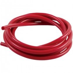 Manguito universal de silicona Samco Rojo para Ducati.