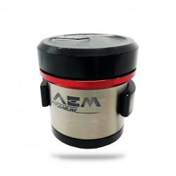 Depósito de freno AEM Factory bombas Brembo Racing
