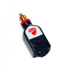 Adaptador mechero a doble USB 12V Ducati Performance