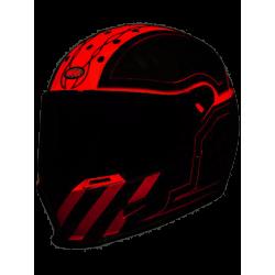 Casco Bell Eliminator Outlaw Colores Ducati Corse