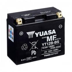 Bateria precargada Yuasa YT12B para Ducati