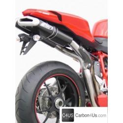 Escapes Zard para Ducati 1098 y 848 Solo Silenciadores