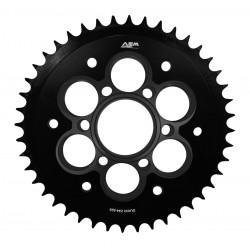 Kit de portacoronas AEM Factory 6 negro para Ducati