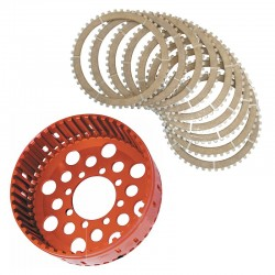 Kit campana + serie completa de discos Z48 para Ducati.