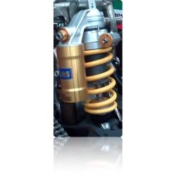 Amortiguador trasero Ohlins y NCR Factory para Ducati Hypermotard