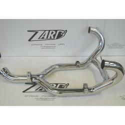 Kit de colectores 2-1-2 en acero racing