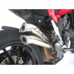 Escapes ZARD para Multistrada 1200 modelo V2