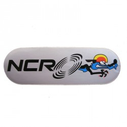 Pegatina OVAL NCR Factory Gris