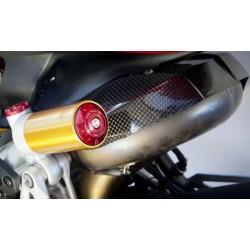 Tapa de botella de amortiguador trasero CNC Racing para Ducati