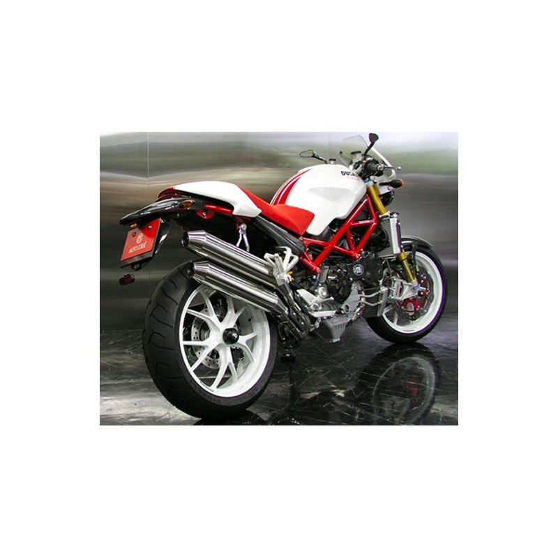 full exhaust in titanium motocorse ducati monster s4rs s4r. Black Bedroom Furniture Sets. Home Design Ideas