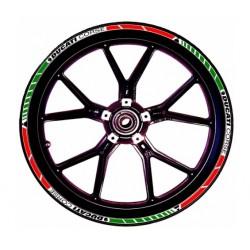 Adhesivos Ducati Corse llantas