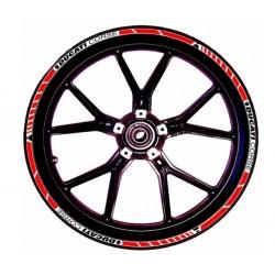 Kit de pegatinas de llantas CORSE para Ducati.