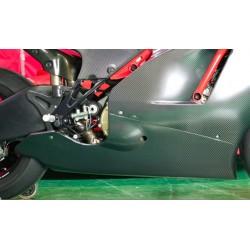 Quilla carenado Carbon Dry para Ducati Desmosedici