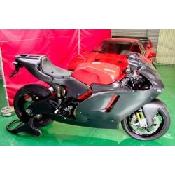 Carenado superior derecho Carbon Dry Ducati Desmosedici
