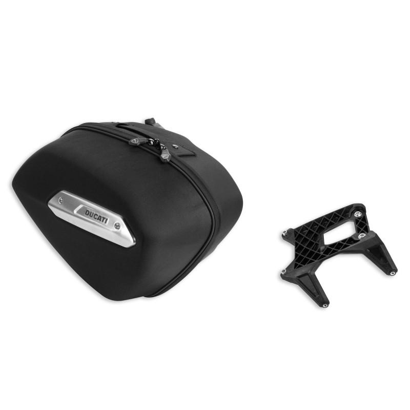 kit valise lat rale pour ducati hypermotard hyperstrada. Black Bedroom Furniture Sets. Home Design Ideas
